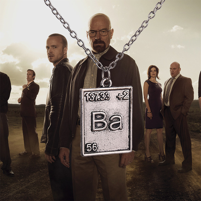 Hot movie breaking bad ba necklace set 2pcsset antique silver hot movie breaking bad ba necklace set 2pcsset antique silver vintage chain urtaz Image collections