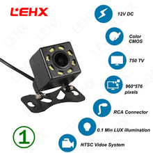 LEHX night vision tylna kamera samochodowa cofania automatyczny parking wodoodporny 170 stopni HD wodoodporny monitor CCD HD tanie tanio LEHX 乐航星 Szkło Ze stopu aluminium ze stopu aluminium