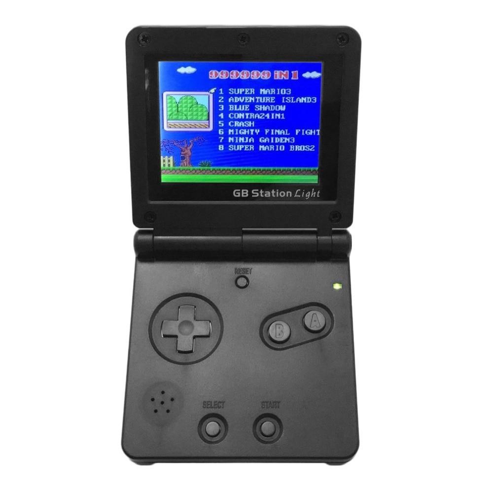 3 Inch Color Dispaly SP PVP 8 Bit Handheld Game Player 8G Memory Portable Handheld Flip  ...