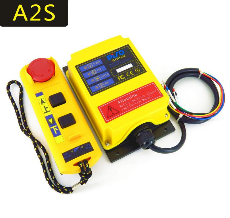Industrial remote controller switches Hoist Crane Control Lift Crane 1 transmitter + 1 receiver A2S mkhs 4 ac220v 110v 380v 36v dc12v 24v industrial remote controller hoist crane control lift crane 1 transmitter 1 receiver