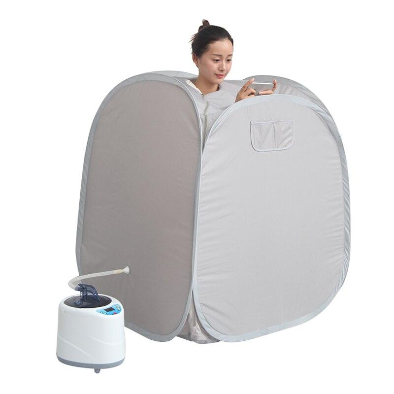 Famiglia Casa Sauna sauna macchina con borsa sauna Sauna A Vapore con generatore di vapore lossing peso mantenere la pelle sana