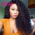 New Brazilian Deep Wave With Closure Ear To Ear Lace Frontal Closure With Bundles Curly Weave Human Hair Bundles With Frontal