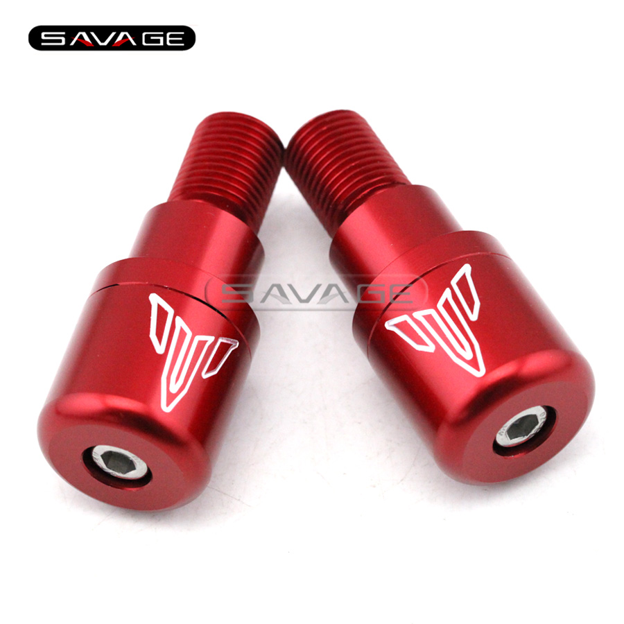 Подробнее о For YAMAHA MT-09 MT09 FZ-09 2014 2015 2016 Red Motorcycle CNC Billet Aluminum Handlebar Grips Bar Ends Caps New for yamaha mt07 fz07 mt 07 fz 07 2014 2015 motorcycle cnc billet aluminum front fork cover caps free shipping