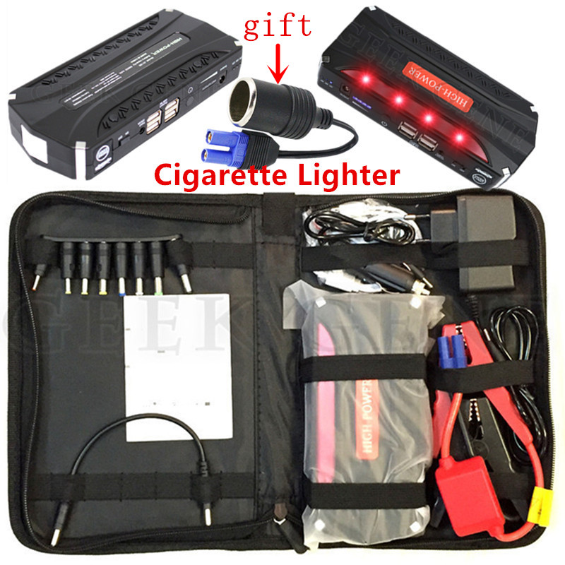 Emergency 600A Car Jump Starter Power Bank Portable 12V Starting Device Booster Car Charger For Car