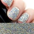 10 g/caja Mini 0.6mm0.8mm Nail Art Beads Caviar Colorido Micro Gardient Perlas Rhinestones Del Clavo de la Manicura Del Arte Del Clavo 3D Decoración