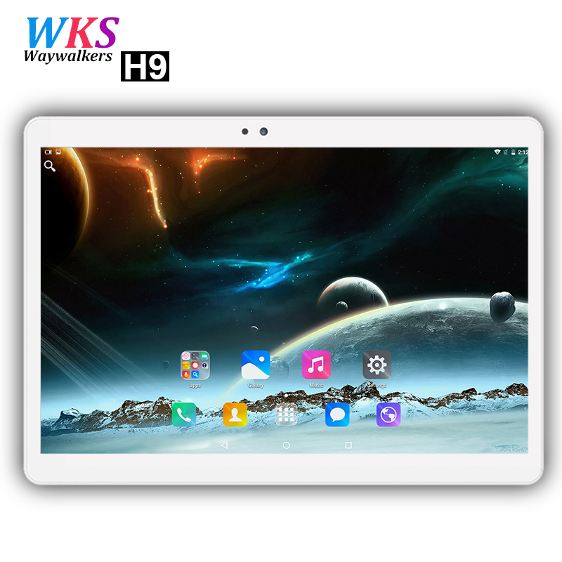 Waywalkers H9 10 inch tablet PC 4G LTE Android 7.0 octa core RAM 4GB ROM 64GB 1920*1200 IPS Dual SIM WIFI smart tablets 10.1 10 你好 法语4 学生用书 配cd rom光盘