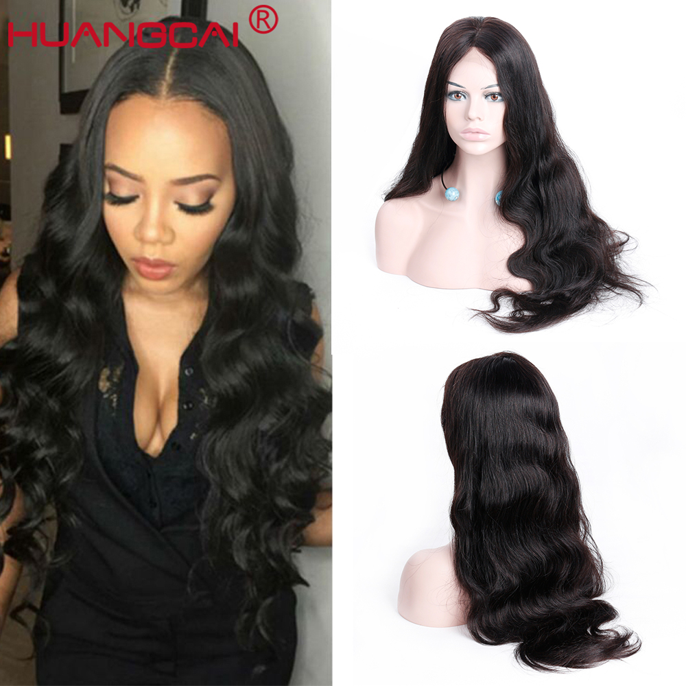 Body Wave 13X4 Lace Front Human Hair Wigs For Women Brazilian Remy Hair Lace Frontal Wig Pre Plucked With Baby Hair Middle Part