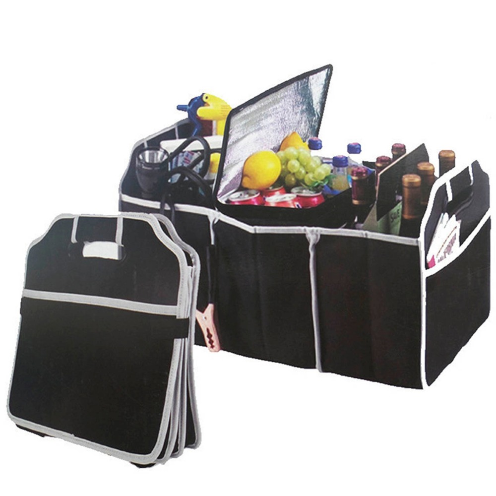 Car Collapsible Organiser Boot Stuff Food Storage Bags Folding Trunk Room Bag Interior Accessories In From Home Garden On