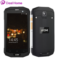 Original AGM A8 IP68 Waterproof 4050mAh Mobile Phone 5.0HD 3GB RAM 32GB ROM Qualcomm MSM8916 Quad Core 13.0MP NFC OTG