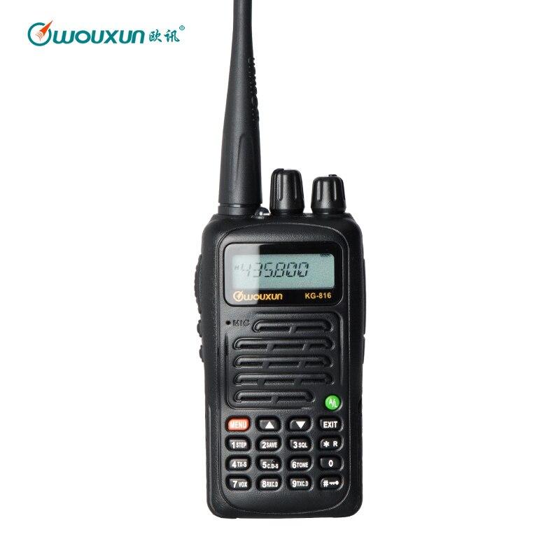 Baofeng KG-816 Two Way Radio VHF 136 ~ 174 mhz Talkie Walkie Wireclone Multi scan mode appel de Plein Air wilress Communication Équipement