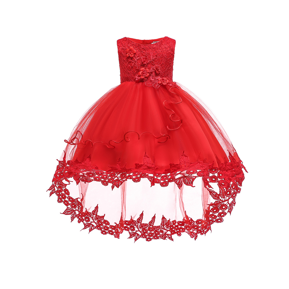 Free Shipping Cotton Lining Infant Dresses 2019 New Arrival Red Baby Dress For 1 Year Girl Birthday Christening Gowns With TrainFree Shipping Cotton Lining Infant Dresses 2019 New Arrival Red Baby Dress For 1 Year Girl Birthday Christening Gowns With Train