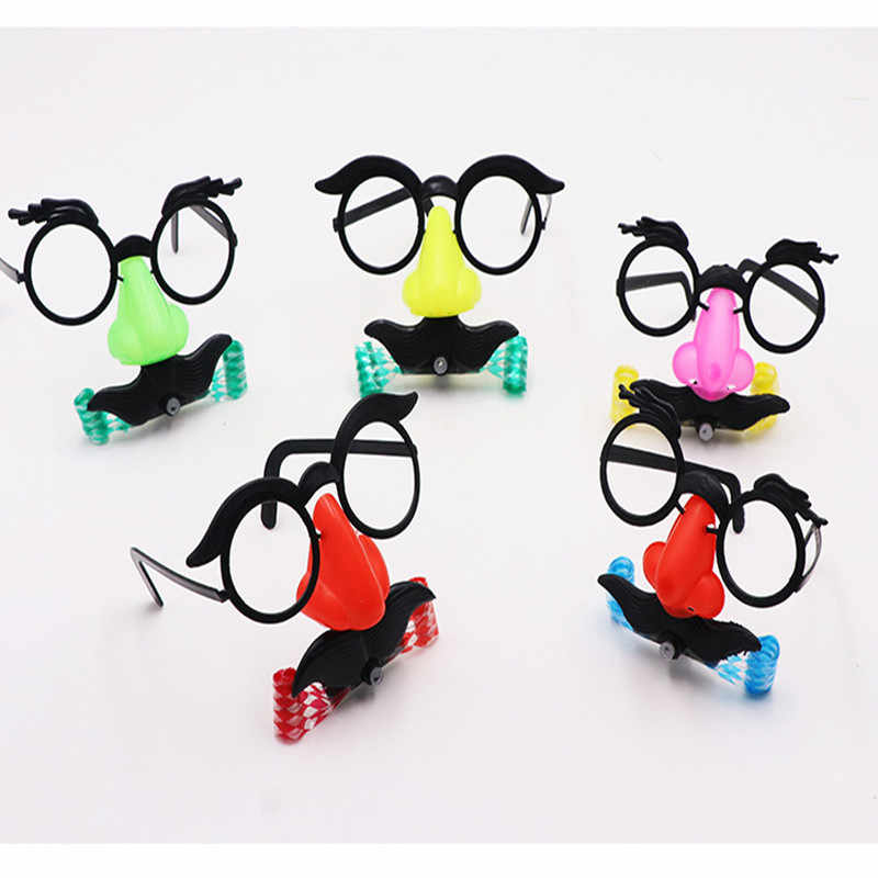 f1aa2980247 Kids Adult Christmas Sunglass Eyeglass Costume Eye Frame Toy Christmas  Party Accessories Decoration Gift