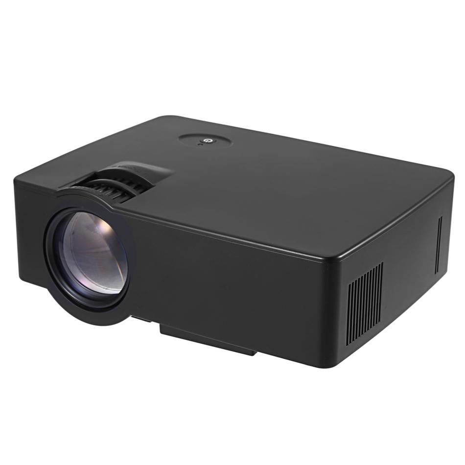 Prix pour Nouvelle Arrivée E08 LCD Projecteur 2500 Lumens 800x480 Pixels 1080 P Home Cinéma Intégré Stéréo Haut-Parleur Home Cinéma