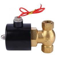 Actuator Ball Valve Shut off Valve Brass Two way Normally Solenoid Valve For Air Water Steam Electric Magnetic Valve