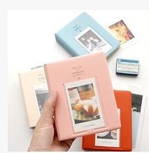 1Pcs Mini Film Instax Polaroid Album Photo Storage Case Fashion Home Family Friends Saving Memory Souvenir 64 Pockets