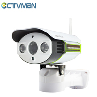 CTVMAN WIFI 720P Camera IP PTZ Onvif 4X Zoom With Audio Talk SD Card Slot IR