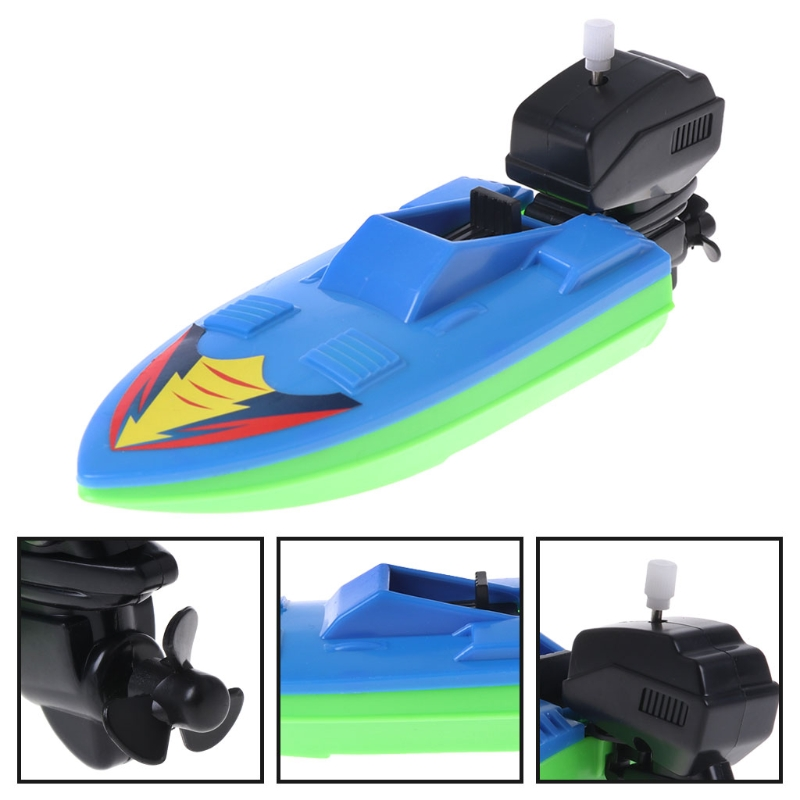 Toy Boat Kid Wind Up Clockwork Boat Ship Toys Toy Play Water Ferry