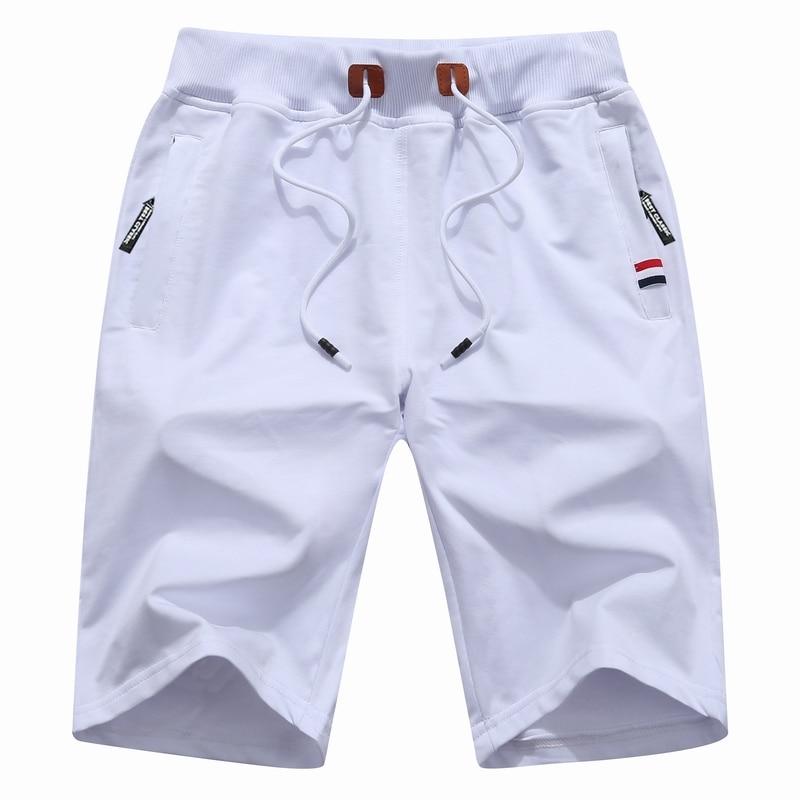Shorts men Summer Cotton Shorts Men Fashion Boardshorts Breathable Male Casual Shorts Mens Short Bermuda Beach Short Pants Hot 9 9