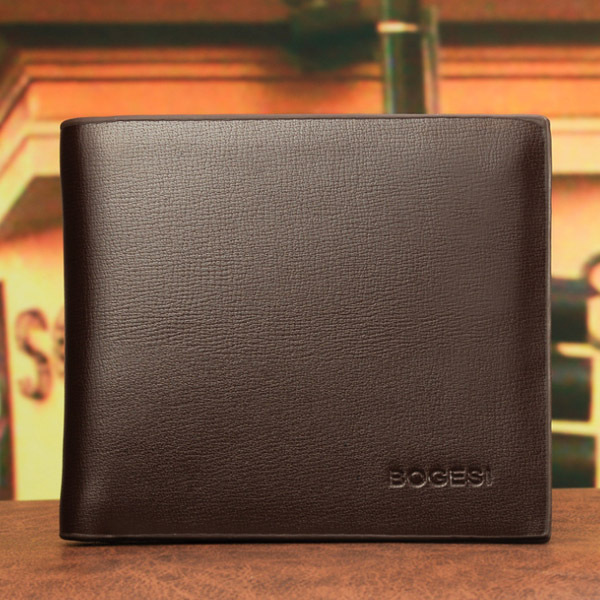 New Famous Brand Mens Wallet Money Purses Classic Solid  Pattern Designer Soft  Card Holder Case