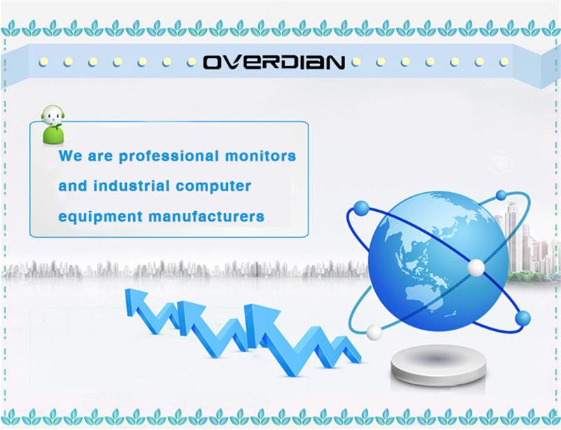 15 дюймов промышленный монитор компьютер android система встроенный