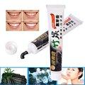100g de Bambu do Carvão Vegetal Creme Dental Clareamento Dental Preto Carvão Creme Dental Remover Manchas Dental Higiene Oral Creme Dental