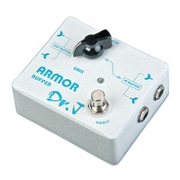 Dr J Armor Buffer Hand Made Electric Guitar Effect Pedal Efeito True Bypass D 57 D57