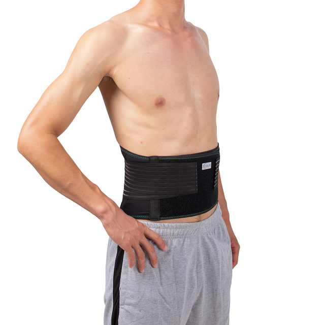Lower Back Lumbar Spinal Spine Waist Brace Support Belt Corset Stabilizer Cincher Tummy Trimmer Trainer Weight Loss Slimming 1