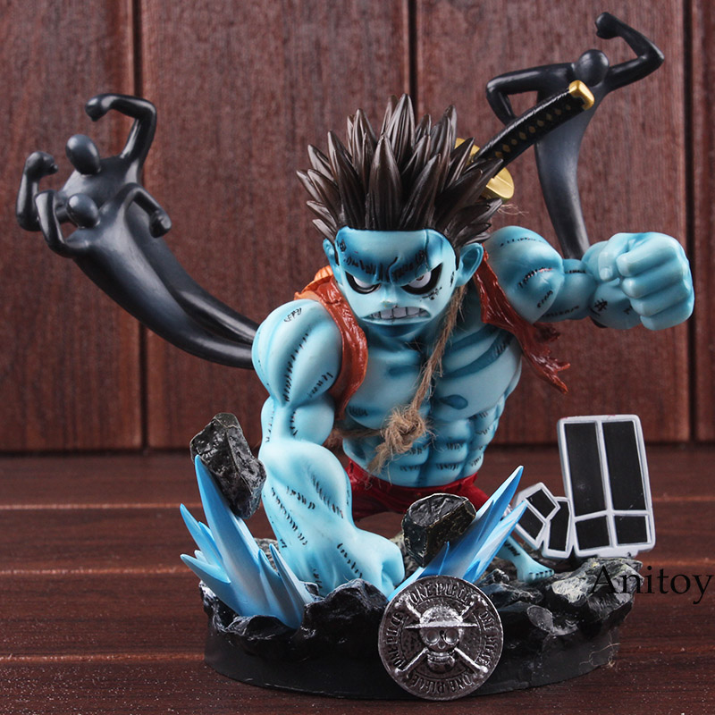 One Piece Figures Monkey D Luffy Nightmare GK Statue PVC One Piece Luffy Figure Collectible Model