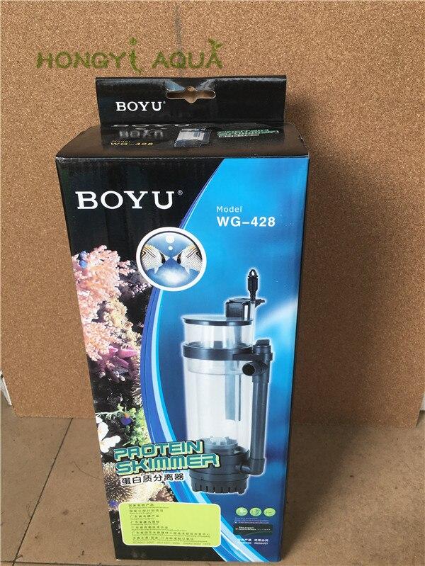 BOYU WG-428 8 W 220-240 V écumeur de protéines interne avec pompe Nano eau salée Aquarium marin Aquarium