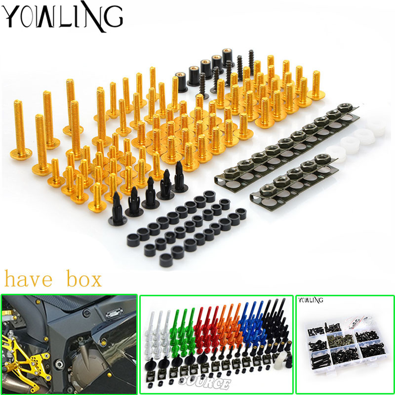 Motorcycle Accessories Fairing windshield Body Work Bolts Nuts Screws for Yamaha MT-01 MT-02 MT-03 MT-07 MT-09/Tracer MT-10/ABS 6mm motorbike body work fairing bolts screwse for yamaha fz1 fazer fz6 fz6r fz8 xj6 diversion triumph tiger 800 1050