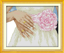Joy Sunday we get married cross stitch pattern kits handcraft make embroidery with chart