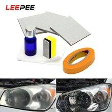 Auto Koplamp Polijsten Koplamp Bleekmiddel Kit Anti Kras Koplamp Restorstion Kit Voor Car Head Lamp Lense Herstelt Duidelijkheid