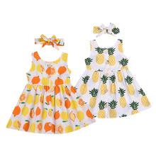 Newborn Baby Girl Dress Toddler Princess Party Pageant Dress Clothes Sundress Headband Little Girls Dresses Princess Dresses(China)