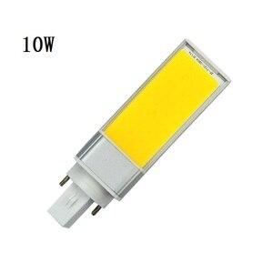 Image 2 - Led lampen 10 W 15 W 20 W E27 G24 Maïs Lamp SMD COB wit Warm Wit Spotlight 180 Graden AC110V 220 V Horizontale Plug Light Lampada