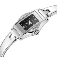 STARKING gorąca sprzedaży kobiety zegarek kwarcowy pełna stali nierdzewnej diament zegarek mody panie luksusowe złoty Rhinestone zegarki Klockor w Zegarki damskie od Zegarki na