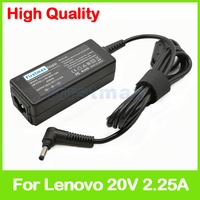 20 V 2.25A laptop AC power adapter oplader voor Lenovo IdeaPad 100-14IBY 100-15IBY 100S-14 100S-15 510-14 ADLX45NLC3A ADP-45DW EEN