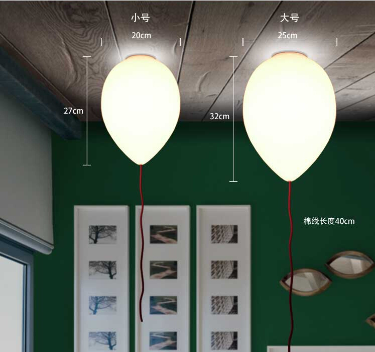 free shipping modern contemporary kids bedroom balloon celing lights creative white fashion ceiling lamp e27 led bulb for home in ceiling lights from lights