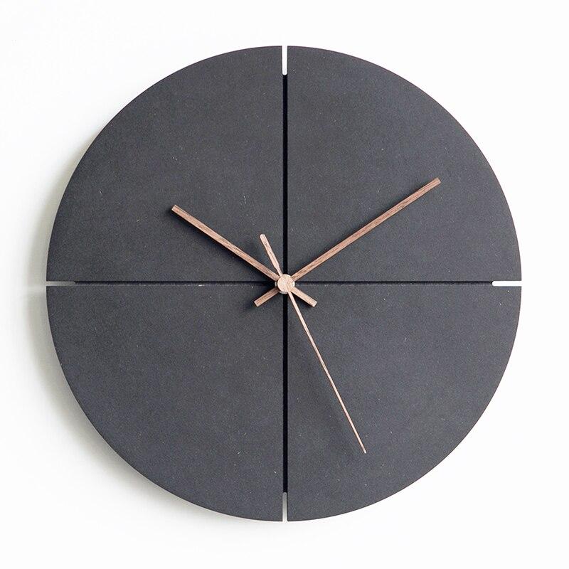 DIY Clay Tools Decorative Round Clock Silicon Mold Concrete Handmade Vintage Cement Clock Molds Home Decor  Gypsum Crafts Mould