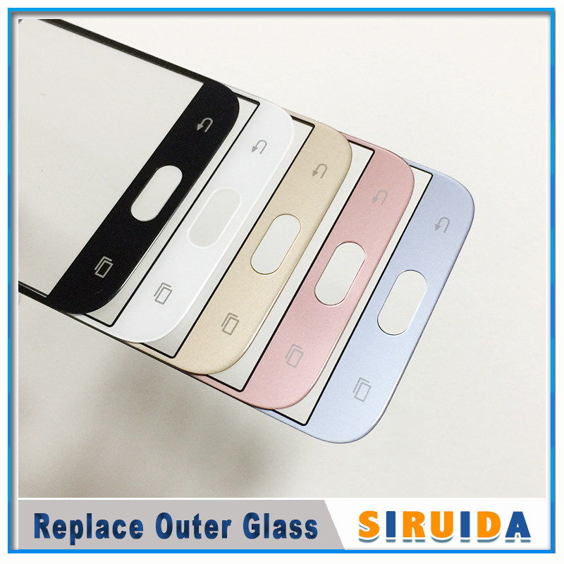 Image 3 - 5pcs LCD Front Outer Screen Glass Lens With OCA Glue For Samsung J330 J530 J730 J530F J5Pro J7pro J727 J3 J5 J7 J710 ReplacementPhone Screen Protectors   -