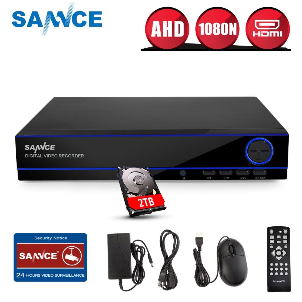 SANNCE Système De Surveillance Domestique 16CH Pleine 960 H Sécurité HI3531 DVR HDMI 1080N Hybride CCTV NVR HVR Enregistreur Vidéo 16 canal 2 tb