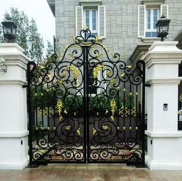 Aluminium Gates Driveway Gates Wrought Iron Gates Forged Iron Gates Hench-12