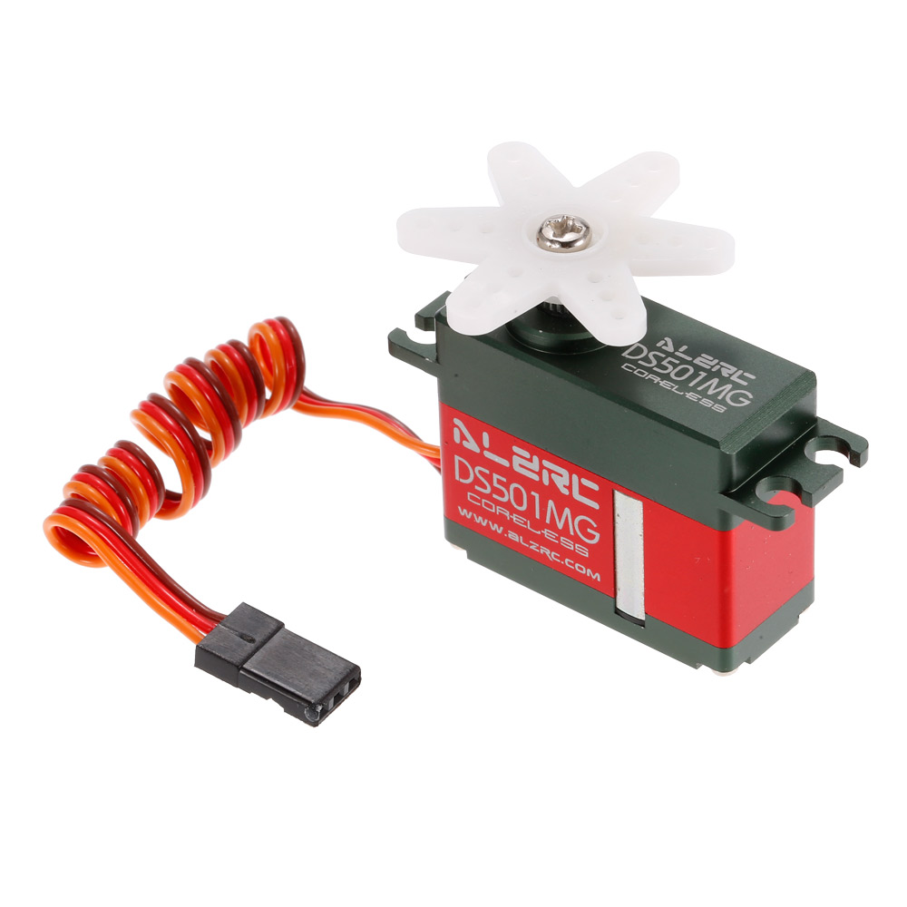 DS501MG Coreless Motor Tail Servo for ALZRC Devil 380 420 450 Fast SAB Goblin 380 RC Helicopter alzrc devil 450 helicopter parts 450 fast fiberglass shell