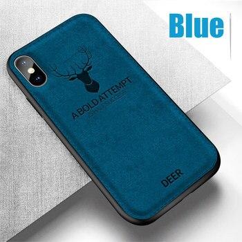 iPhone Xs Case Blue