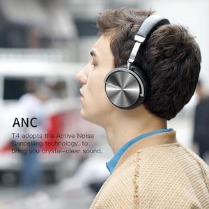 Image 5 - Bluedio T4 активное шумоподавление беспроводные Bluetooth наушники Беспроводная гарнитура с микрофоном для музыки
