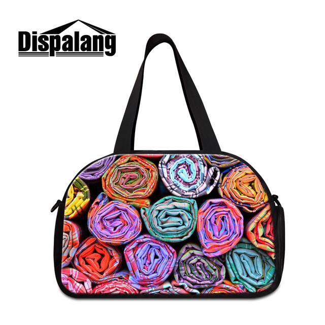 Dispalang nova moda mulheres multifuncionais viajar sacos de homens de lona portátil ombro saco da bagagem duffel bolsas das mulheres saco de fim de semana
