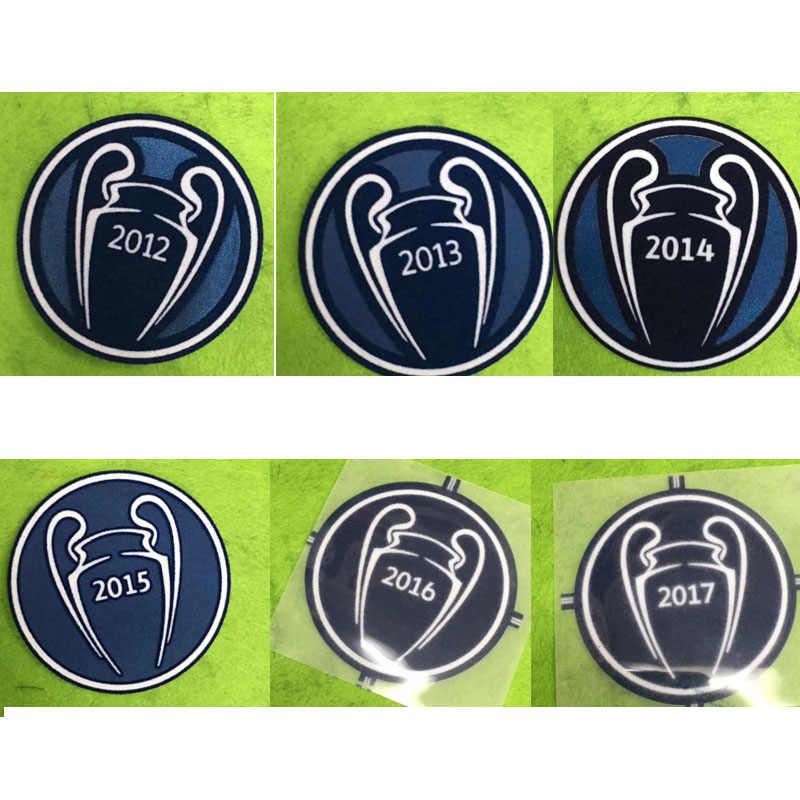 Ucl Champions Patch Winnaar 2012-2017 Mouwen Voetbal Badge