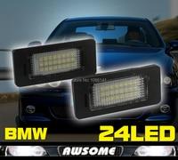 Niedrigsten Preis!! 2x LED CANBUS FEHLERLOSE Nummernschild Licht Lampe Blubs Fit Für E39, E60, F10 E82 E90, E91, E92, E93 X5 X6
