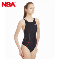 NSA Sharkskin Swimsuit Swimwear Women One Piece Suits Arena Swim Suit Swimsuit Professional Swimsuits Girls Racing