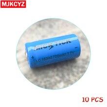 10PCS battery batteria MICKTICK 16340 700mah 3.7V lithium Li-ion rechargeable ba
