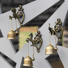 Small Retro Metal Wind Bell Hanging Decorations Animal Wind Chime Relaxing Windchime Bells Ornament Hanging Copper Bells Gifts